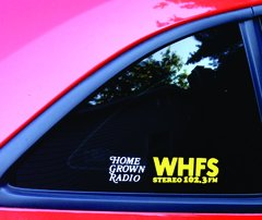 WHFS 102.3 Decal