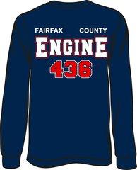 FS436 Engine Long-Sleeve T-shirt