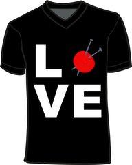 Love Knitting V-Neck