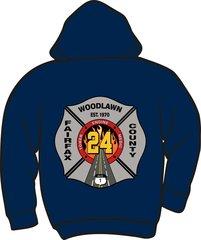 FS424 Heavyweight Zipper Hoodie