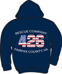 FS426 Rescue Heavyweight Hoodie