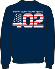 FS402 Flag Heavyweight Sweatshirt
