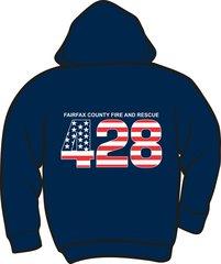 FS428 Flag Lightweight Zipper Hoodie