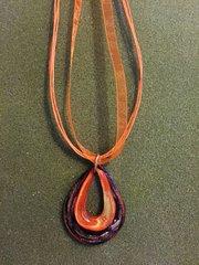 Glass Pendant Necklace 2