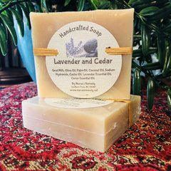 Lavender and Cedar Goat Milk Soap