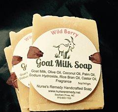 Wild Berry Goat Milk Soap
