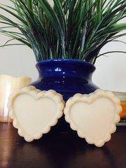 Mango Coconut Soap Hearts