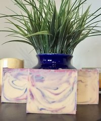 White Ginger and Amber Triple Butter Soap