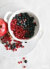 Pomegranate Blueberry Fruit Infusion