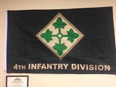 4ID Flag 3'x5' black background