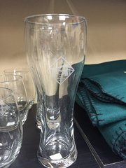 Mountain Post Pilsner Glass
