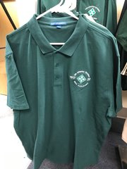 3XL 100th Anniversary Polo - Green