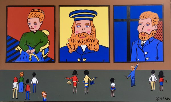 The Vincent Van Lichtenstein Museum. 36 x 60