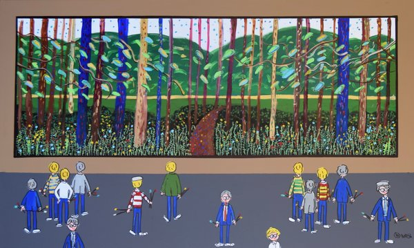 The Hockney Museum/Arrival of Spring