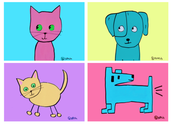 Cards: Dogs and Cats