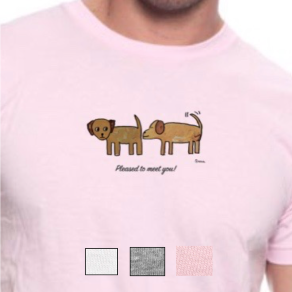 Pleased to meet you!, unisex t-shirt