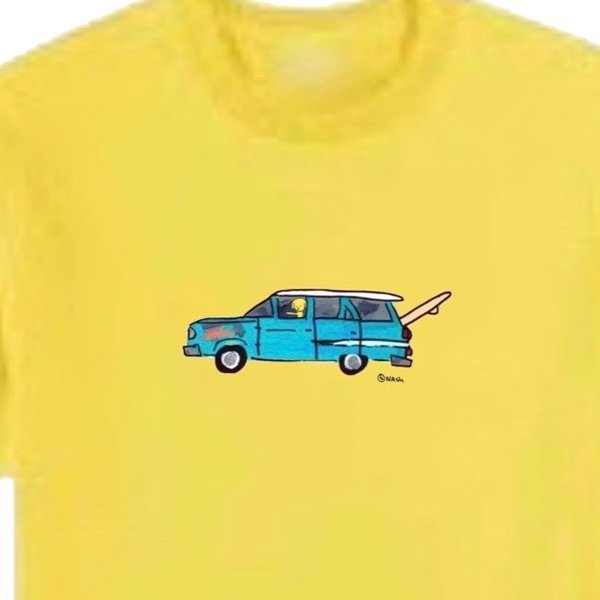 Station Wagon. Unisex t-shirt, available in other colors.
