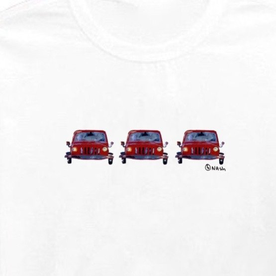 Jeeps. Unisex t-shirt, available in other colors.