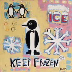 Keep Frozen. 36 x 36