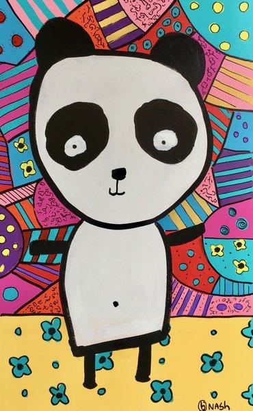 Panda. 30 x 48.