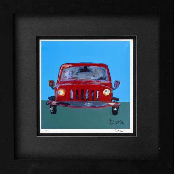 Car Art: Vintage Jeep Wrangler