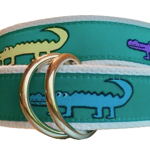 Belt, Alligators. Unisex. Made in the America.