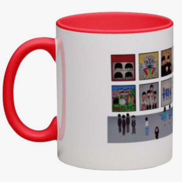 Coffee mug: The Beatles Museum