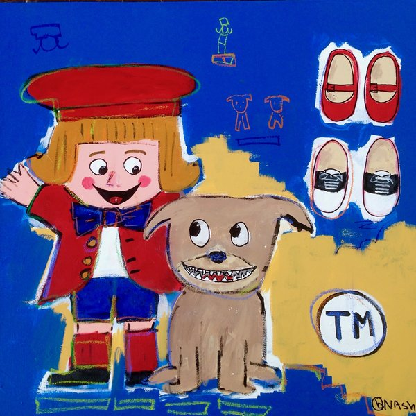Buster Brown.  36 x 36