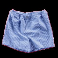 Men's boxer shorts. Black/white Oxford Cloth. CLEARANCE!