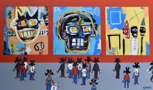 The Basquiat Museum Vault