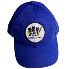Unisex Baseball Cap. Nashville Cats.  Made in America.