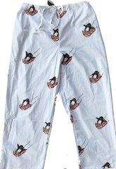 Men's Pajama Pants. Sledding Penguins. Made in America.