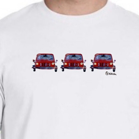Jeep. Unisex t shirt.