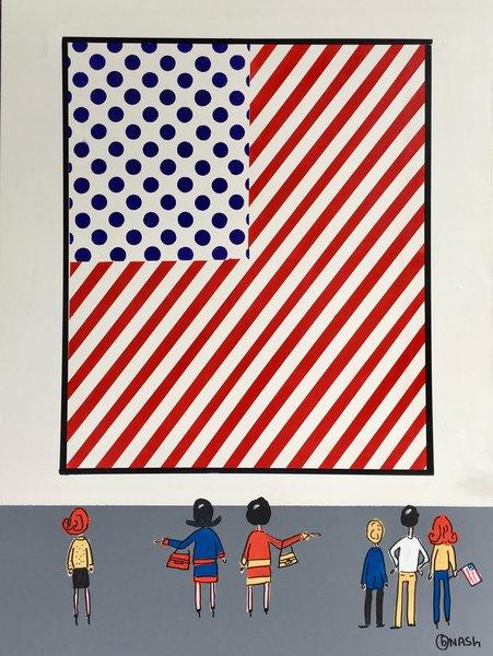 The Lichtenstein Flag Museum. 36 x 48