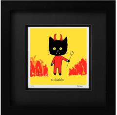 Cat Art: El Diablo