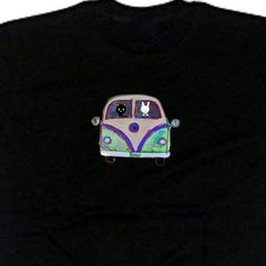Magic Bus. Unisex t-shirt, available in other colors.