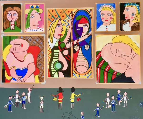 The BIG Picasso Museum. 60 x 72.