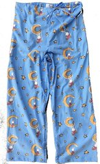 Women's All-Cotton LaLa on the Moon Pajama Pants. Made in America/