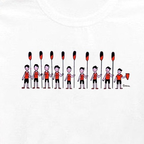 Crew. Unisex t-shirt, additional colors are available.