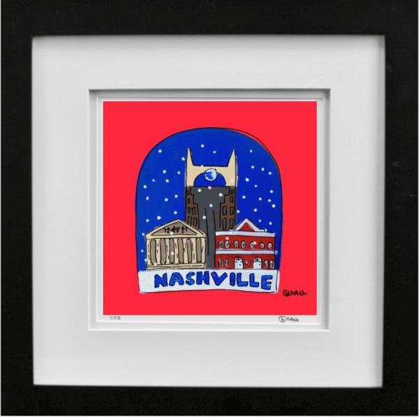 Snow globe: Nashville