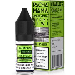 THE MINT LEAF, HONEY DEW AND BERRY KIWI ELIQUID BY PACHA MAMA