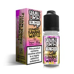Double Drip Coil Sauce - Strawberry Banana Waffle
