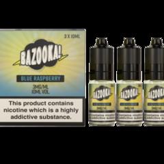 Blue Raspberry Sour Straws by Bazooka