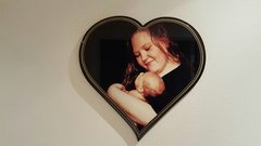 AMANDA Beautiful keepsake plaque 18 x 18 inches
