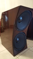 "Double 18"" DAYTON AUDIO 1800 watts 19.6 HZ"