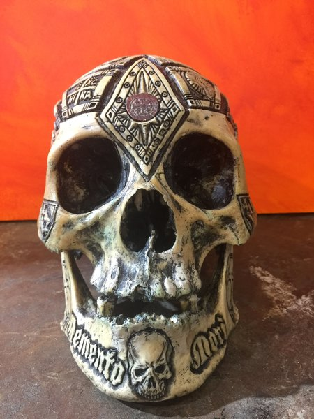 Templar knight jacques de molay real human skull zane