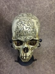 Gryffindor Theme Real Human Skull Replica Carved By Zane WYlie