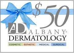 Albany Dermatology $50 Gift Certificate