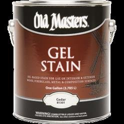 Old masters gel stain qt cedar 81304 epic paint company for Aquabond paint