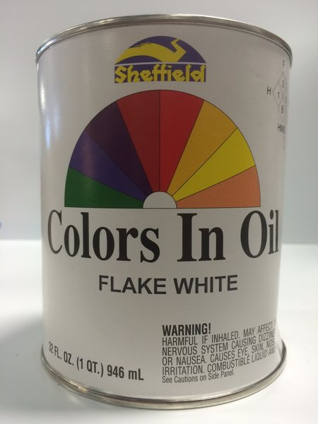 Sheffield bronze colors in oil qt flake white epic paint for Aquabond paint